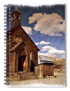 Bodie Church - Impressions Spiral Notebook