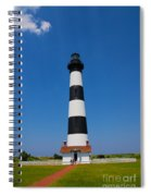 Bodie Island Lighthouse Outer Banks Spiral Notebook