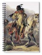 Bodmer: Blackfoot Horseman Spiral Notebook