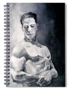 Body Building Spiral Notebook
