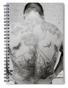 Body Art Spiral Notebook