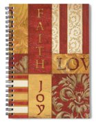 Bohemian Red Spice 1 Spiral Notebook