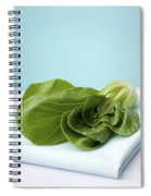 Bok Choy Chinese Cabbage Spiral Notebook