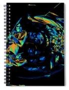 Tb Cosmic Swirl Spiral Notebook