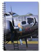 Bomber Sentimental Journey Spiral Notebook