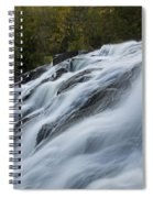 Bond Falls 9 B Spiral Notebook