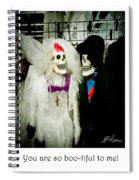 Boo-tiful Couple Spiral Notebook