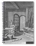 Bookbinder, 1763 Spiral Notebook