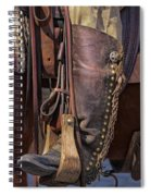 Boots Of A Drover Spiral Notebook