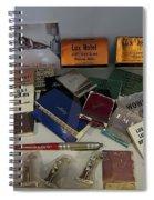 Bordello Paraphernalia - Wallace Idaho Spiral Notebook