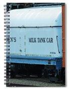 Bordens Milk Tank Car Spiral Notebook