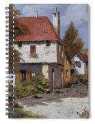 Borgogna Spiral Notebook