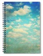 Born Again Spiral Notebook