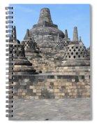 Borobudur Mahayana Buddhist Monument Spiral Notebook