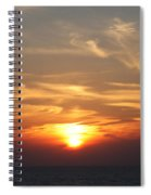 Bosphorus Sunset Marmara Sea Spiral Notebook
