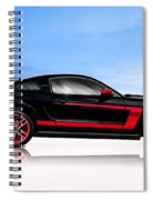 Boss Mustang Spiral Notebook