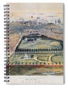 Boston, 1850 Spiral Notebook