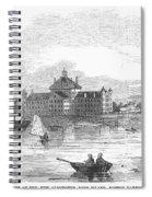 Boston: Almshouse, 1852 Spiral Notebook