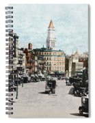 Boston: Bowdoin Square Spiral Notebook