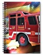 Boston Engine 37 Spiral Notebook