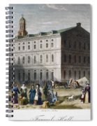 Boston: Faneuil Hall, 1776 Spiral Notebook