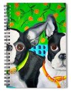 Boston Girls Spiral Notebook