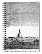 Boston Harbor, 1776 Spiral Notebook