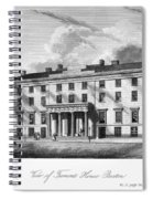 Boston: Hotel, C1835 Spiral Notebook