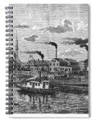 Boston: Iron Foundry, 1876 Spiral Notebook