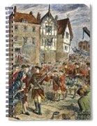 Boston: Occupation, 1768 Spiral Notebook