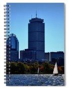 Boston Skyline 2 Spiral Notebook