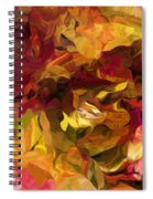 Botanical Fantasy 082012 Spiral Notebook