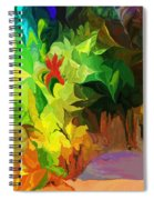 Botanical Fantasy 091612 Spiral Notebook