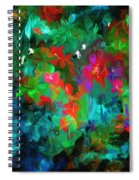 Botanical Fantasy 103112 Spiral Notebook