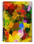 Botanical Fantasy 110512 Spiral Notebook
