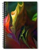 Botanical Fantasy 121211 Spiral Notebook