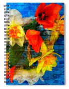 Botanical Graffiti  Spiral Notebook