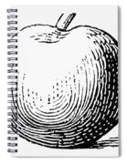 Botany: Apple Spiral Notebook
