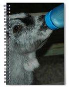 Bottle Fed Kid Spiral Notebook