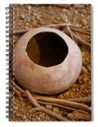 Bottle Gourd Spiral Notebook