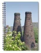 Bottle Kilns Spiral Notebook