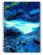 Bottlenecked Water  Spiral Notebook