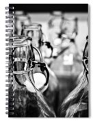 Bottles Spiral Notebook