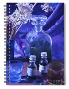 Bottles Of Perfume Essence  Spiral Notebook