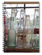 Bottles On The Shelf Spiral Notebook