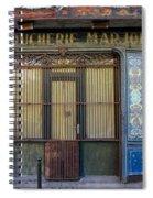 Boucherie Marjolin Spiral Notebook