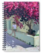 Bouganvillaea Spiral Notebook