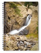 Boulder Colorado Boulder Falls Spiral Notebook