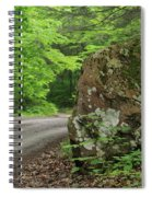 Boulder Rural Mountain Road Spring Spiral Notebook