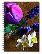 Bouquet Of Bulbs Spiral Notebook